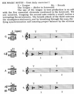 magic sixnotes excerpt